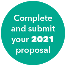 Complete and submit your 2021 proposal